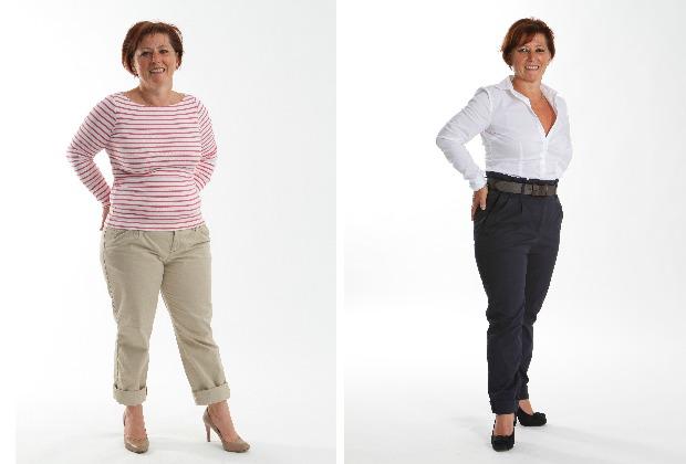 Jeanette voor en na
