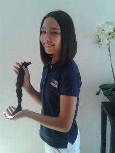 Lizlotte 12 jaar en staart van 33 cm voor Haarwensen